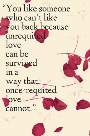 you like someone who can t like you back because unrequited love can ...