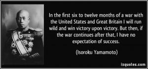 More Isoroku Yamamoto Quotes