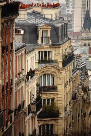 Balconies, Paris, France photo via ceann