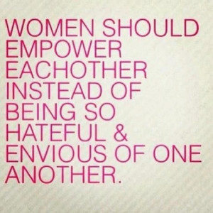 Women should...