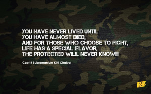 pedestal here are 10 inspirational quotes from indian soldiers that ...