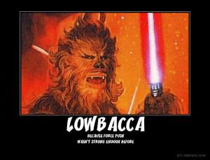 Wookie Jedi by OkamiAndy