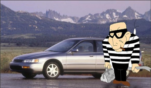 What are the top ten stolen cars of the year according to the National ...