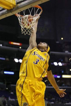 Sparks' Candace Parker dunks in the second half of a WNBA basketball ...