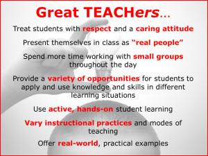 Great Teachers quote #1