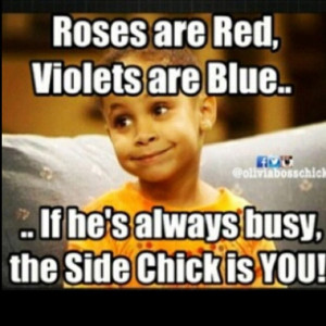 Side Chick Quotes