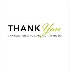 Thank You Quotes for Employees | Thank You: In Appreciation of You ...