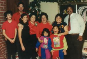 DIY Holiday Family Portrait - circa 1990