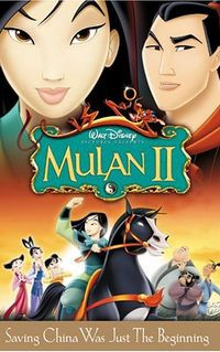 Fa Mulan it's love! Yao and myself, Chien Po and Su...