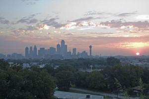 Dallas Texas Skyline Outline