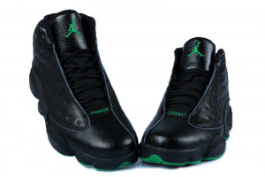 Jordan Retro 13 Black Green