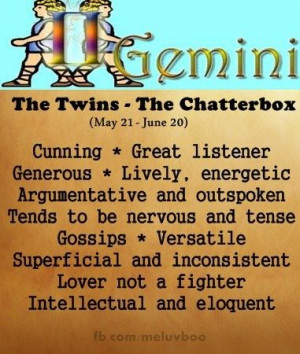 Quotes About Being a Gemini | gemini
