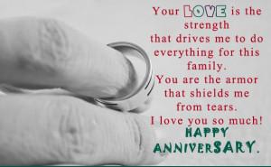 Happy Anniversary To My Love