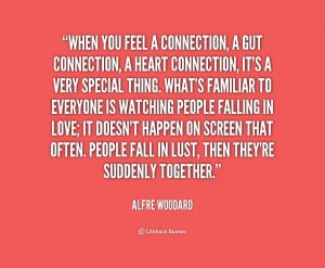 Connection with Someone Quotes