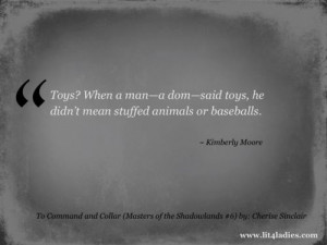 Title: To Command and Collar (Masters of the Shadowlands #6) Author ...
