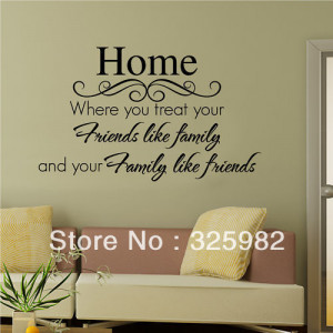 Home-Family-Friends-Quote-Removable-Vinyl-Wall-Sticker-Decal-Wallpaper ...