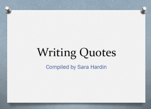 best quotes about writing