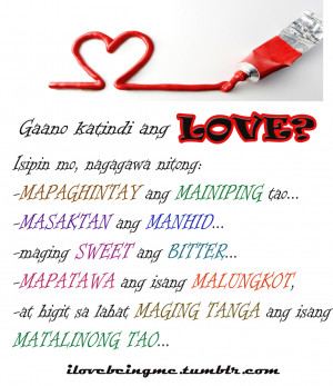 Kaka Kilig Love Quotes