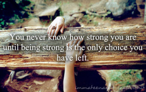 quotes about being strong and moving on tumblr