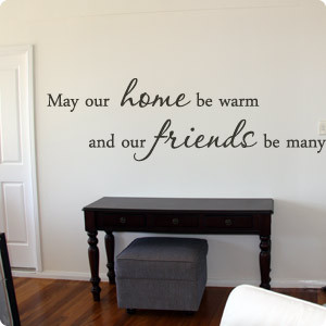 Warm Home... Art Quote
