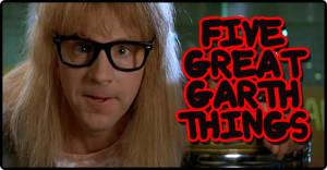 Five Great Garth Things.   Dinosaur Dracula!