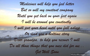 Get Well Soon Poems For Grandpa
