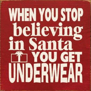 Funny Santa Quote