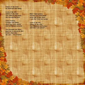 Of Free Short Christian Thanksgiving Poems For You To Refer