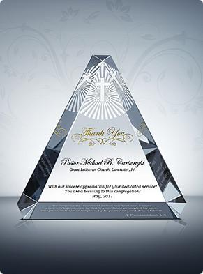 Home > Pastor Appreciation Gifts > Trinity Appreciation Plaque