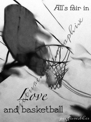 Basketball Passion Love But