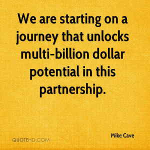Mike Cave Quotes