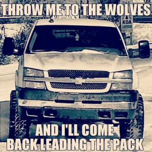 LOVE THIS QUOTE!!! Don't know why there's a Chevy in the background ...