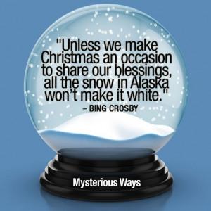 BingCrosby #quotes #Christmas #snow