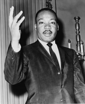 Martin Luther King en 1964