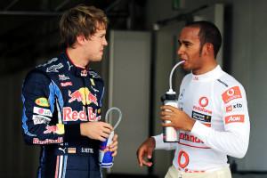 Lewis Hamilton and Sebastian Vettel would be Ecclestone's dream lineup ...