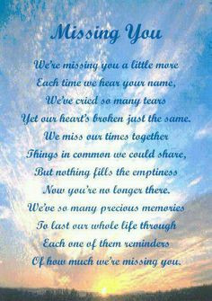 Missing Grandma & Grandpa