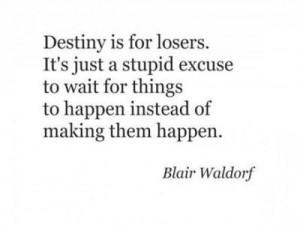 blair waldorf is a genius.