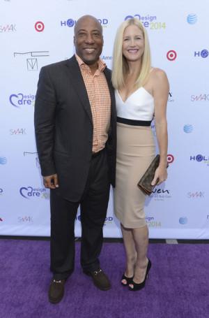 Jennifer Lucas Byron Allen and Jennifer Lucas attend 16th Annual