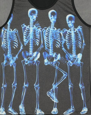 Pictures 3d human skeleton poster art print funny human skeleton ...