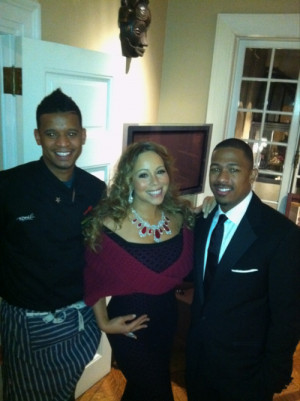 PHOTO: MARIAH CAREY & NICK CANNON AT SPIKE LEE FUNDRAISER