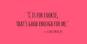 ... cookie fruit cookie me cookie monster this no brainer cookie monster
