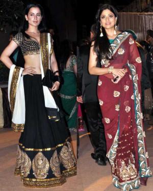 Kangna Ranaut And Shamita Shetty...