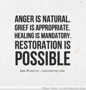 ... Healing is mandatory. Restoration is possible. #hope #quotes #sayings