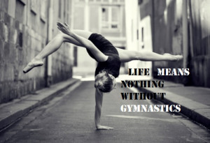 amazing, black and white, girl, gymnastics, phrase