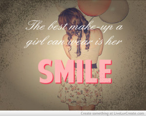 beautiful, cute, girls, love, pretty, quote, quotes, the smile