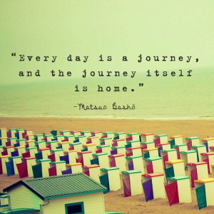 Matsuo Basho Quote #travelqotd