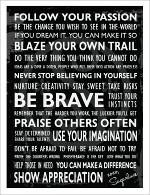 ... Motivational Inspiration Passion + Purpose Poster for Pinterest