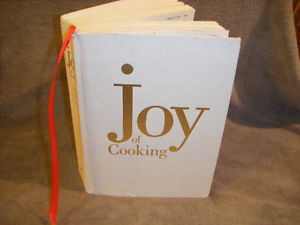 THE JOY OF COOKING by MARION IRMA S ROMBAUER HC 1997