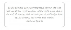 life, love, nicholas sparks, quote, quotes - inspiring picture on ...