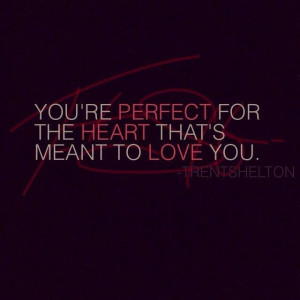 Your perfect for someone~